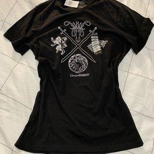 NWT Black Game of Thrones soft tshirt